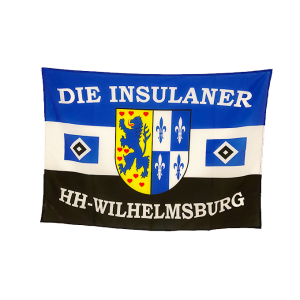 "Your Club Merch - Balkonfahne ""Die Insulaner"""