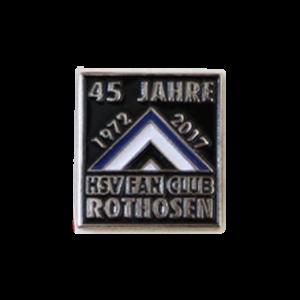 "Pin ""Rothosen 40 Jahre"""